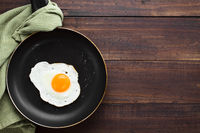 Fried Egg in Skillet