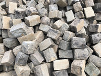 pile of large cobble stones, cobblestone background