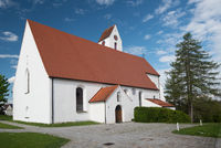 Famous pilgrimage church in Maria Rain