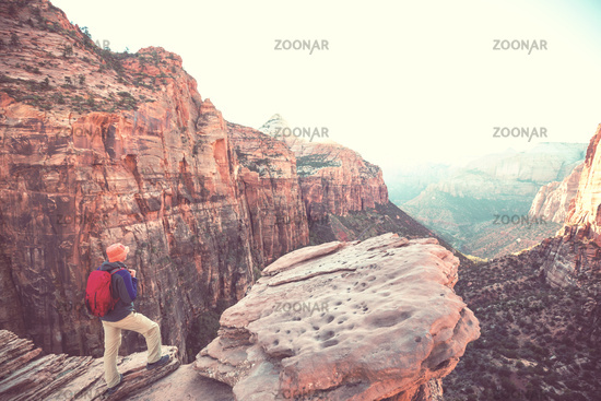 Hike in Zion