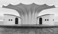 Music Pavilion - Architecture at the Sassnitz City Harbour