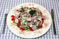 Mixed Salad with Tuna