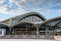 Central railway station of Cologne