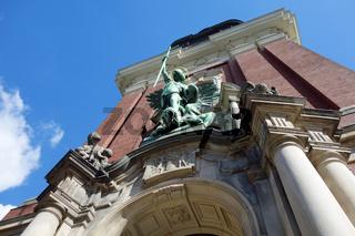 St. Michaelis kirche in Hamburg