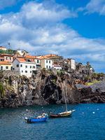 Blick auf Camara de Lobos auf der Insel Madeira, Portugal