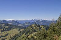 Ausblick vom Zwölferhorn