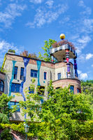 Hundertwasser house in Bad Soden, Hessen