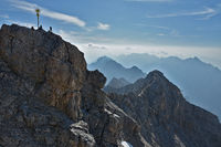 Zugspitze peak, Bavaria, Germany