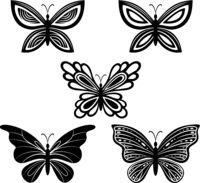 Butterflies Pictograms