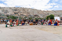 Musicians on festival in Ladakh