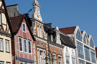 different gables from the Middle Ages to modern times