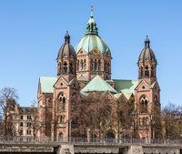 Sankt Lukas church in Munich