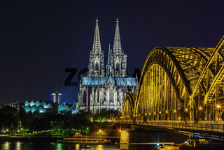 view of Cologne Cathedral, Germany