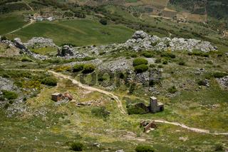 El Torcal mountain landscape