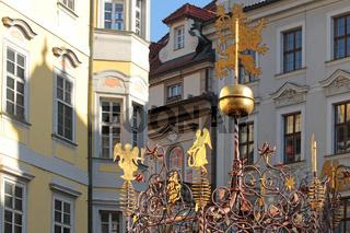 Brunnen am kleinen-Ring in Prag