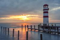 Lighthouse on the lake