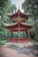Chinese pavilion in a park