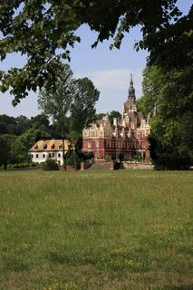 Muskau Castle in Bad Muskau