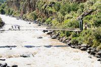 Bridge to the Inca Trail Peru