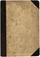 Ancient book cover.