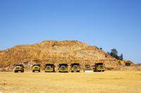 Gold mine quarry opencast