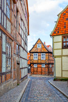 Fachwerk houses in Quedlinburg