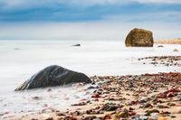Die Küste der Ostsee bei Meschendorf
