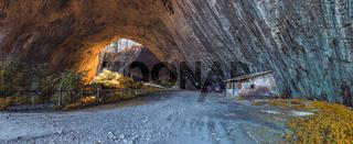 Devetashka cave in Bulgaria
