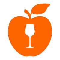 Weinglas und Apfel - Wine glass and apple