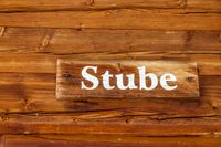 Wooden sign bar parlour
