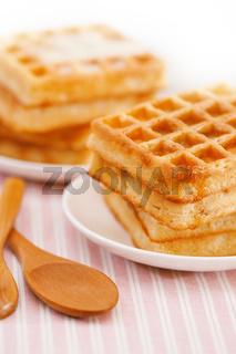 Sweet waffle