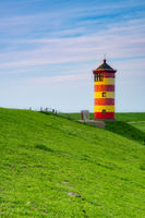A beautiful lighthouse on the East Frisian coast