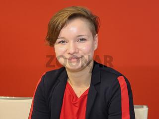 AfD-Aussteigerin Franziska Schreiber auf der Leipziger Buchmesse 2019