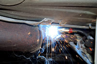 arc welding inert gas welding