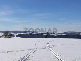 Das Erzgebirge im Winter