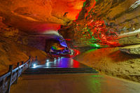 Huanglong Yellow Dragon Cave - China