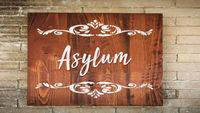Street Sign to Asylum