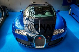 A sports car Bugatti Veyron EB 16.4.