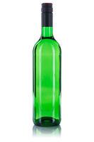 Wein Flasche Weinflasche Weißwein grün Weisswein freigestellt