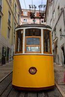 Elevator da Bica in Lisbon Portugal