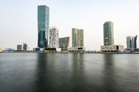 Buldings at Dubai Business Bay, United Arab Emirates, UAE, Middle east