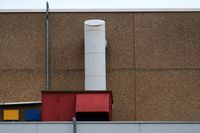 Ventilation system public building