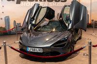 COLOGNE, GERMANY - JUN 28th 2019: Impressions at CCXP Cologne: Fast & Furious: Hobbs & Shaw Car