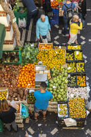 fruits, vegetables, market hall, Funchal, Madeira, Portugal, Europe