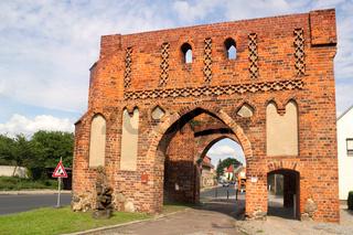 Neumarkttor in Jüterbog
