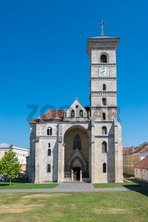 Roman-Catholic Cathedral Saint Michael inside the Citadel Alba-Carolina in Alba Iulia, Romania
