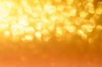 Yellow Christmas or New Year background