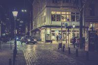Night shot of Laurentiusplatz