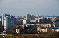 cityscape of berlin marzahn
