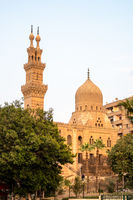 The Aqsunqur mosque in Cairo Egypt